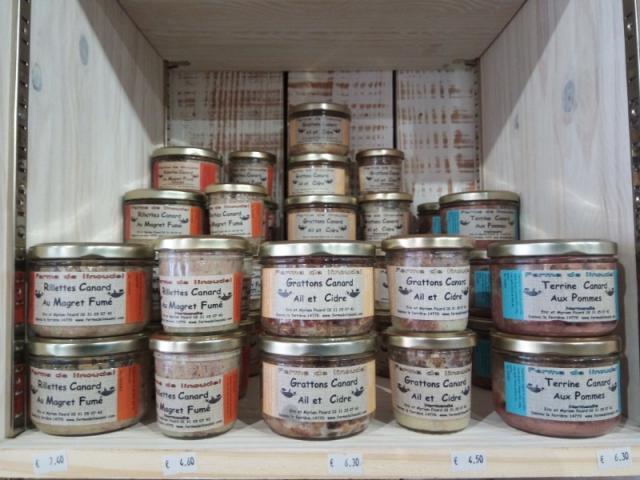 Rillettes et terrines de la ferme de Linoudel