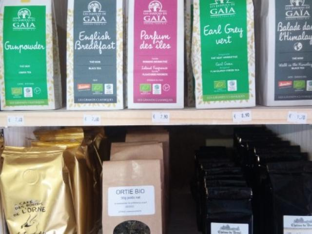 Cafés thés et tisanes
